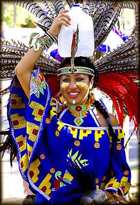 Native American Beauty Art Print