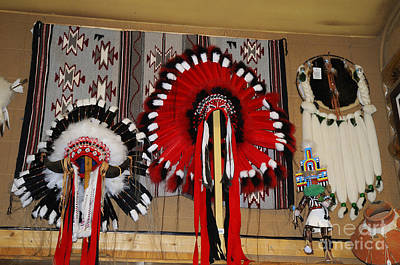 Photograph - Native American Crafts by Brenda Kean