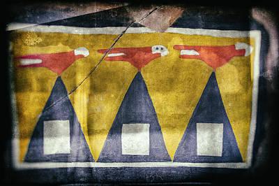 Photograph - Native American Crow Pictograph by Jo Ann Tomaselli