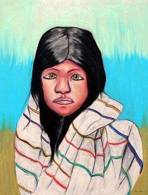 Native American Girl 1 Art Print