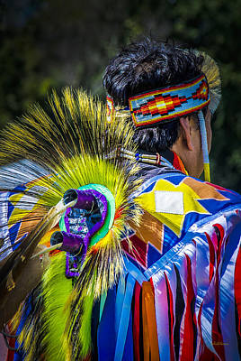 Photograph - Native American Indian by Julie Palencia