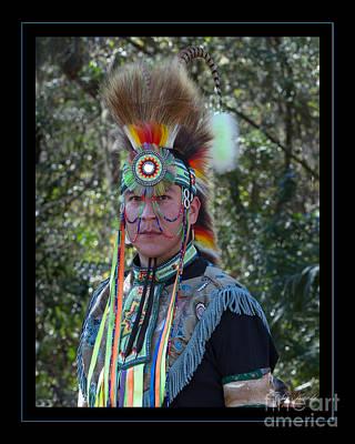Native American Portrait Art Print
