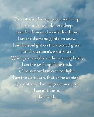 Photograph - Native American Prayer by Patricia Strand