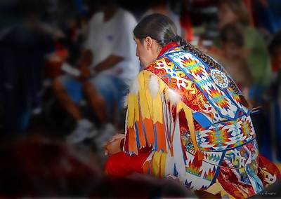 Photograph - Native American Regalia by Dyle   Warren