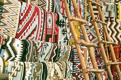 Native American Rugs Art Print by Julien Mcroberts