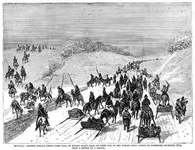 Native American Surrender Print by Granger