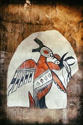 Native American Thunderbird Art Photograph - Native American Thunderbird Pictograph by Jo Ann Tomaselli