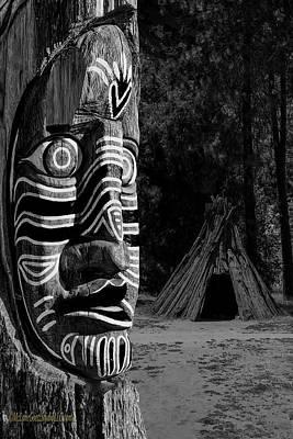 Photograph - Native American Totem by LeeAnn McLaneGoetz McLaneGoetzStudioLLCcom