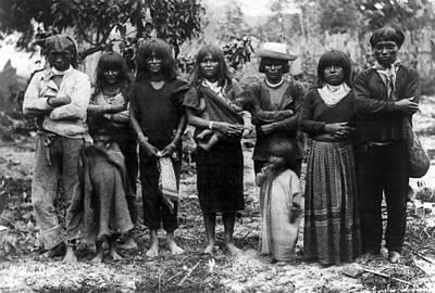 Native Brazilians, 1920s Art Print by Granger