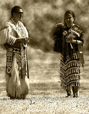 Photograph - Native Couple  by Patrick Boening