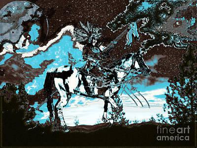Digital Art - Native Dream IIi by Asegia