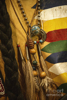 Long Necklace Photograph - Native by Margie Hurwich