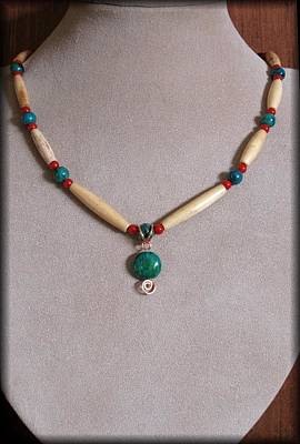Lampwork Jewelry - Native Tribal by Jan Brieger-Scranton