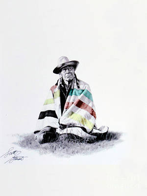 Native West Coast Indian Art Print by Al Bourassa