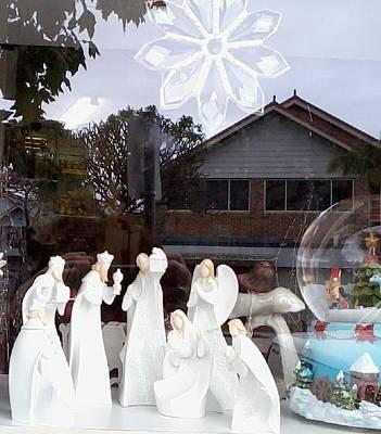 Nativity Print by Adrianne Wood