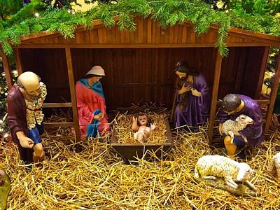 Photograph - Nativity by Chris Montcalmo