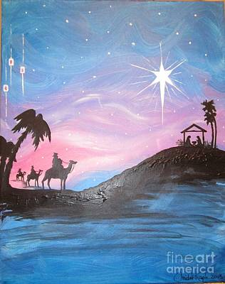 Painting - Nativity by Christal Kaple Art