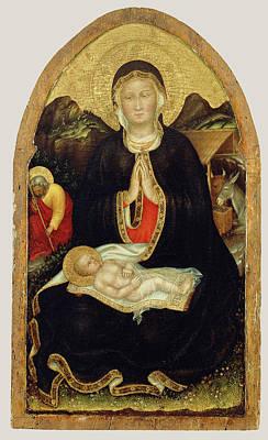 Nativity Gentile Da Fabriano, Italian Art Print