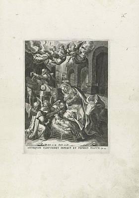 Nativity, Johann Sadeler Art Print