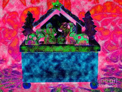 Nativity Digital Art - Nativity Music Box 1 by Diane DiMarco