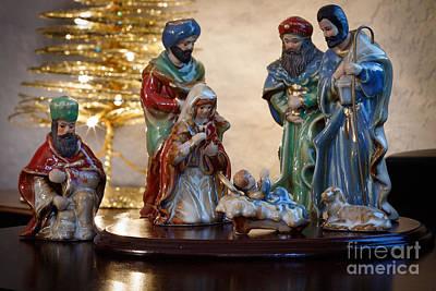 Photograph - Nativity by Richard Smith