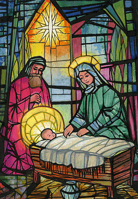Nativity  Art Print