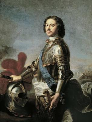 Nattier, Jean Marc 1685-1766. Portrait Art Print