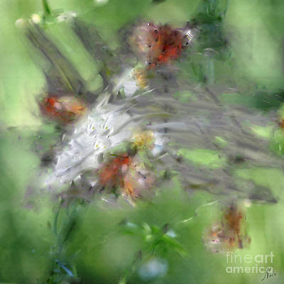 Digital Art - Natural Abstractions #9 Butterflies by Nola Lee Kelsey