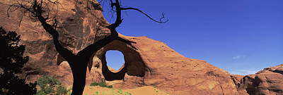 Natural Arch In A Desert, Monument Art Print by Panoramic Images
