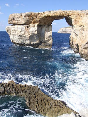 Photograph - Natural Arch by Paula Guy