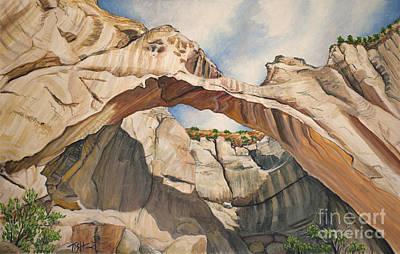 Natural Arch Art Print