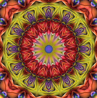 Digital Art - Natural Attributes 05 Square by Wendy J St Christopher