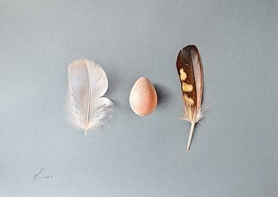 Natural Beauty Art Print by Elena Kolotusha