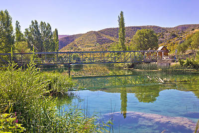 Photograph - Natural Beauty Of Green Zrmanja River by Brch Photography