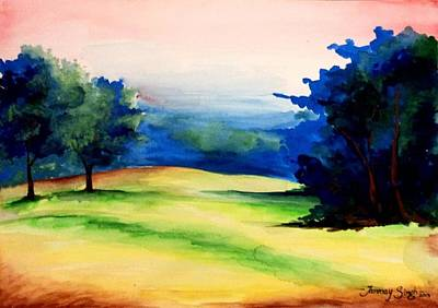Painting - Natural Beauty by Tanmay Singh