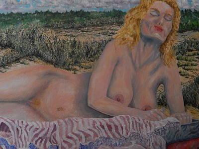 Robert Schmidt Painting - Natural Blonde by Robert Schmidt