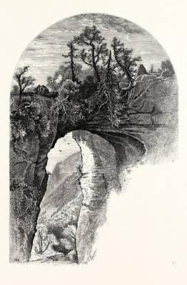 Natural Bridge, Virginia Art Print