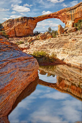 Photograph - Natural Bridges National Monument Utah by Utah Images