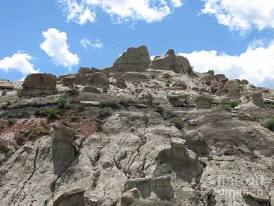 Photograph - Natural Climbing Wall by John Potts