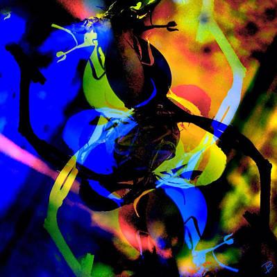 Pop Art Photograph - Natural Dance by Barbs Popart