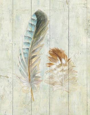 Blue Jay Painting - Natural Flora X by Danhui Nai