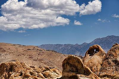 Photograph - Natural Heart Arch In The Alabama Hills by Peggy Hughes