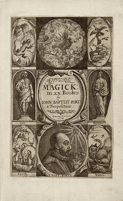 'natural Magick' (1658) Art Print by Library Of Congress