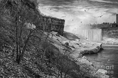Movies Star Paintings - Natural Niagara by James Neiss