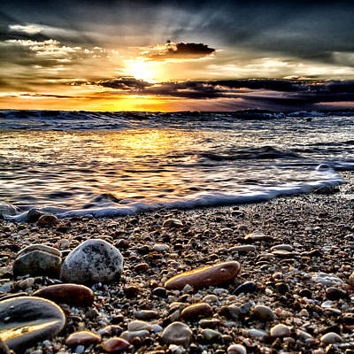 Grey Clouds Photograph - Natural Ocean by Stelios Kleanthous