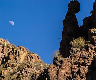 Photograph - Natural Rock Portrait by Penny Lisowski