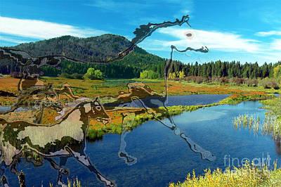 Digital Art - Natural Spirit II by Asegia