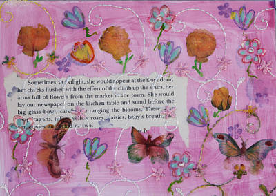 Mixed Media - Nature 11 by Dawn Boswell Burke