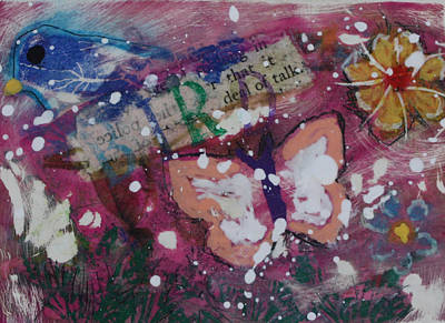Mixed Media - Nature 13 by Dawn Boswell Burke