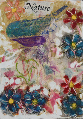 Mixed Media - Nature 15 by Dawn Boswell Burke